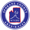 Spokane County ARES RACES logo dash
